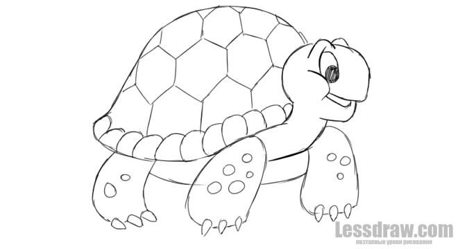 3d рисунки на карандашом для начинающих поэтапно картинки 10