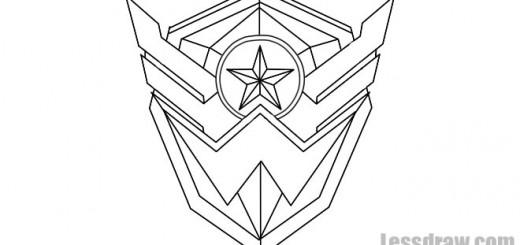 Как нарисовать знак Варфейс