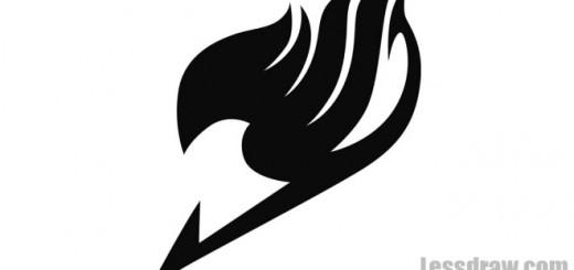 как нарисовать знак хвост феи
