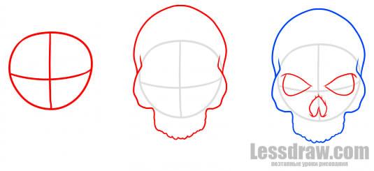 чтобы одна рисование тату череп поэтапно отзывам