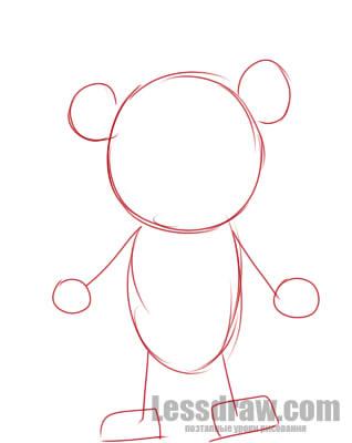 рисунки мишки фредди