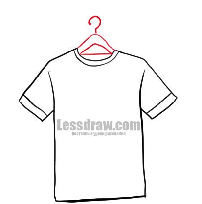 Как нарисовать футболку