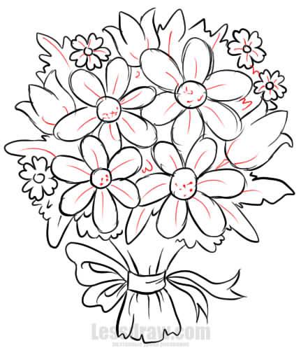 картинки рисунки цветы
