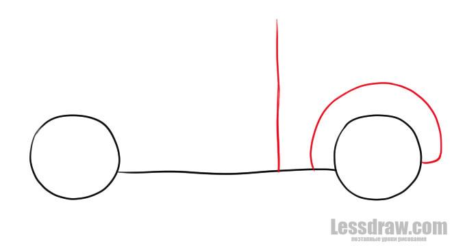 Как нарисовать машину ребенку