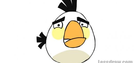 как нарисовать angry bird