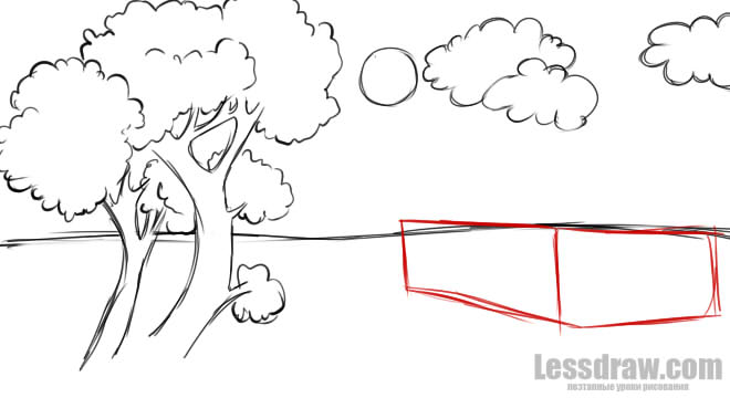 Как нарисовать королеву лета