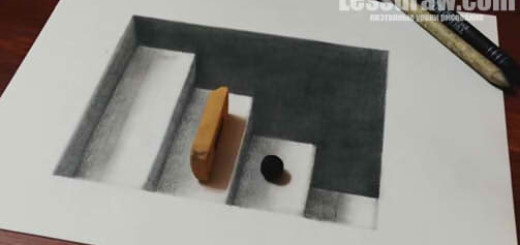 оптическая иллюзия рисунок