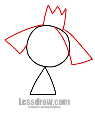 Как нарисовать бена поэтапно карандашом