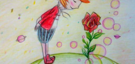 как нарисовать маленького принца