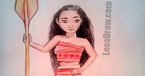 моана рисунок