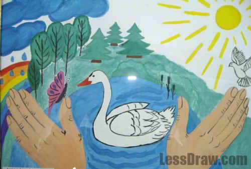 Областной конкурс рисунков по экологической безопасности