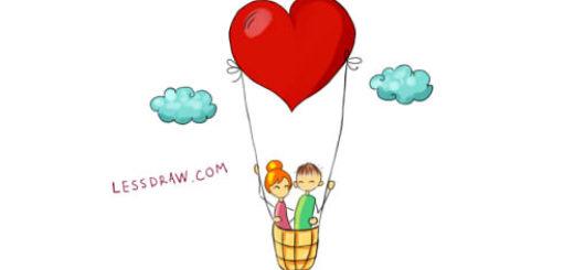 как нарисовать любовь