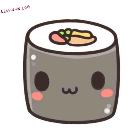 картинки для срисовки легкие еды и милые