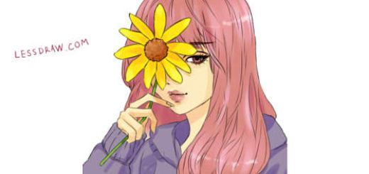 как красиво нарисовать аниме