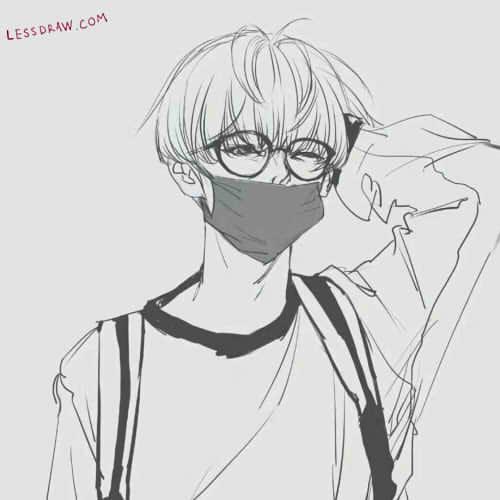 рисунки аниме карандашом для срисовки